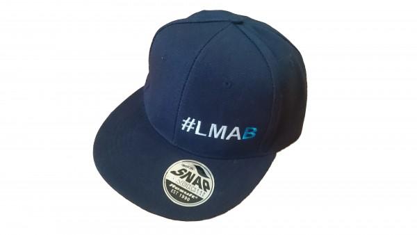 #LMAB Snapback Cap - #LMAB Script (New-Era-Style - Navy)